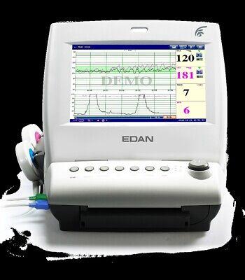 New Edan F6 Express 10.1 Tft Display Twin Fetal Fhr Maternal Monitor