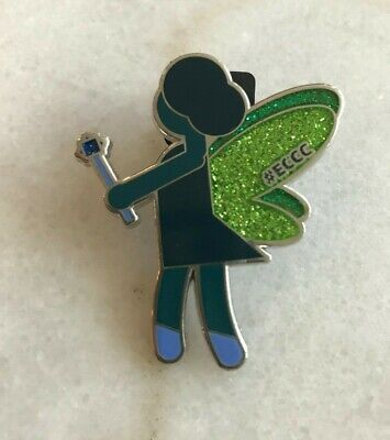 Sparkle City Comics (ECCC Emerald City Comic Con Fairy Glitter Pin)