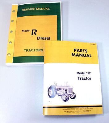 Service Manual For John Model R Diesel Tractor Repair Manual Parts Catalog Shop
