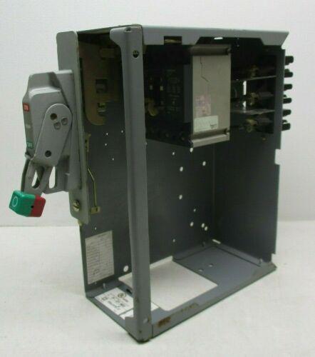 "Square D Model 6 MCC Feeder Bucket 6"" 20A GJL36020 w/ Door and Shelf"