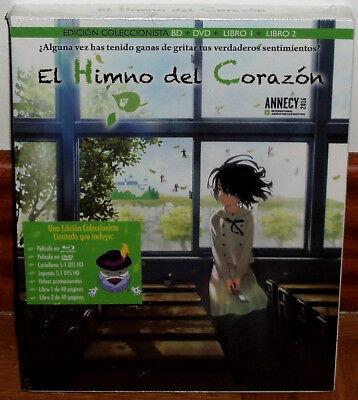 EL HIMNO DEL CORAZON EDICION COLECCIONISTA BR+DVD+2 LIBROS NUEVO (SIN ABRIR) R2 segunda mano  Embacar hacia Argentina