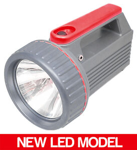 CLULITE CLU13 LED TORCH 240V NEW CLU10 RECHARGEABLE (CH)
