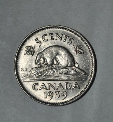 1939 CANADA 5 CENTS (3199)