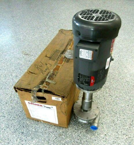 NEW GUSHER 11019A-B CENTRIFUGAL PUMP Z215928 7.5HP 230/460V 3450 RPM