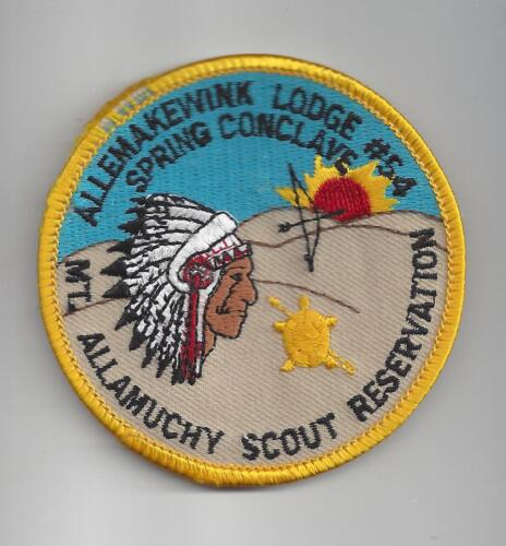 Allemakewink No 54 Boy Scout Patch Spring Conclave