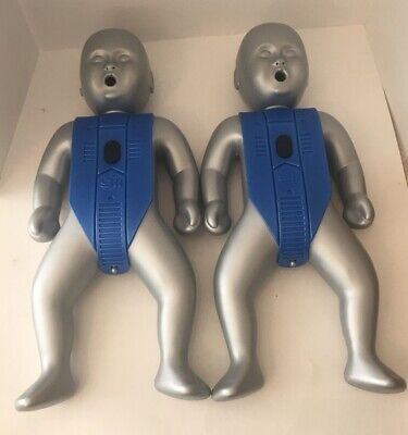 Lot Of 2 Actar 911 Infantry Baby Cpr Manikin Training Dummy 234998