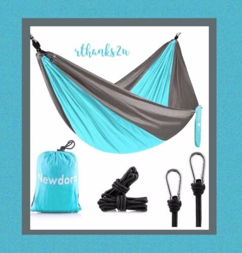 Newdora+Camping+Hammock+-+Lightweight+Nylon+Portable+Hammock%2C+270x140cm+Double