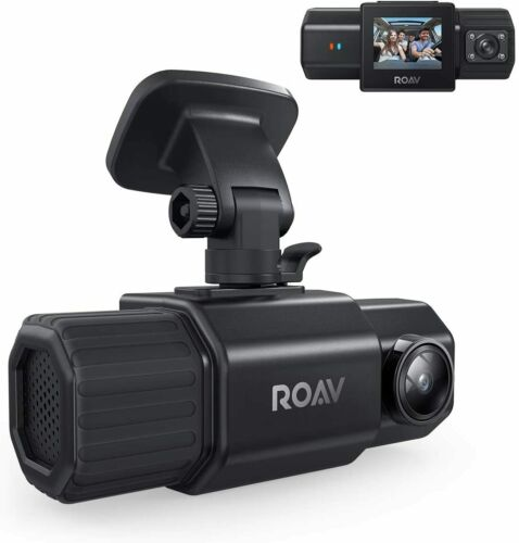 Anker Roav DashCam Duo Dual 1080p Dash Cam Front & Interior IR Night Vision GPS