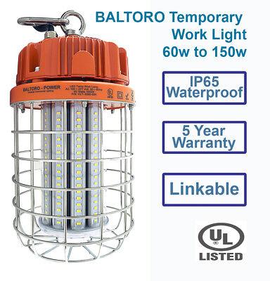 - Baltoro 60w LED WorkLight Jobsites Workshops Construction Bring it where you go