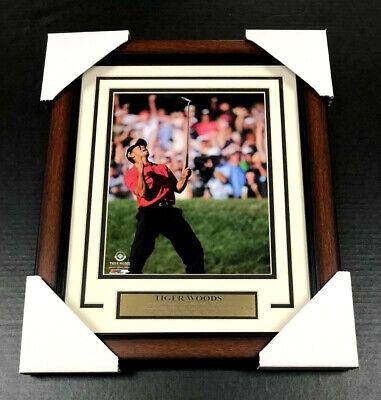 Tiger Woods Framed Photo (TIGER WOODS UDA UN-SIGNED FRAMED 8x10 PHOTO MASTERS US OPEN CHAMPION PGA)