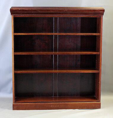 Bücherregal Mahagoni 130 x 146 cm Regal 7665074