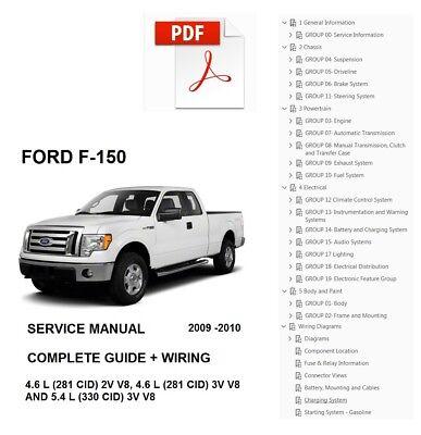 2004-2014 Ford F150 Pick-Ups 2WD /& 4WD Chilton/'s Repair Service Shop Manual 1251
