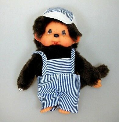 Monchhichi Sekiguchi Junge mit Kleidung ca. 20 cm Monchichi