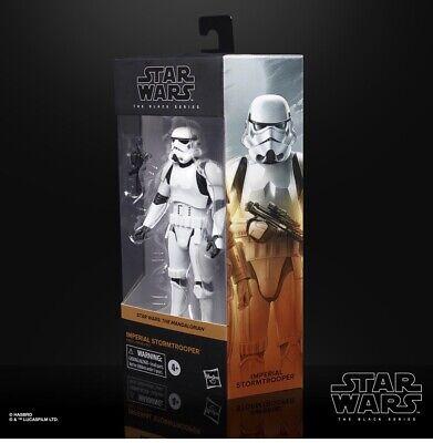 "Star Wars Black Series 02 Imperial Stormtrooper (Mandalorian) 6"" Figure IN STOCK"