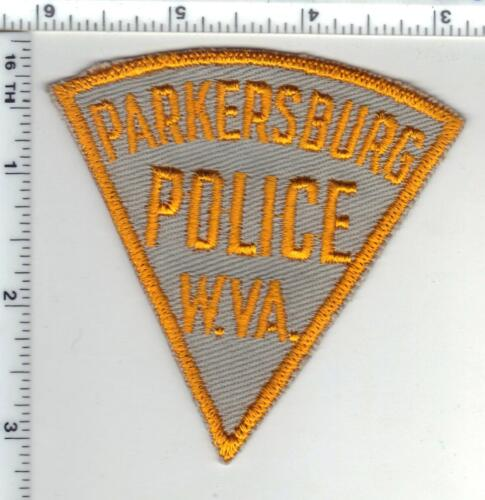 Parkersburg Police (West Virginia) 2nd Issue Shoulder Patch 1980