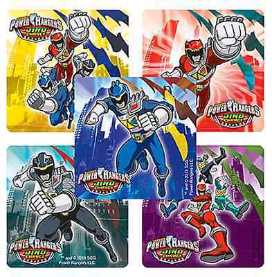 25 Power Rangers Dino Charge Stickers, 2.5