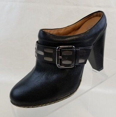 Eurosoft By Sofft Sacha Booties Zip Womens Black Leather Slip On Shoes Size 6M d'occasion  Expédié en Belgium
