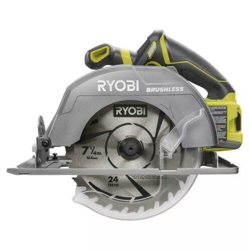 """Ryobi P508 One+ 18V BRUSHLESS  7-1/4"""" Circular Saw W/Blade *"""
