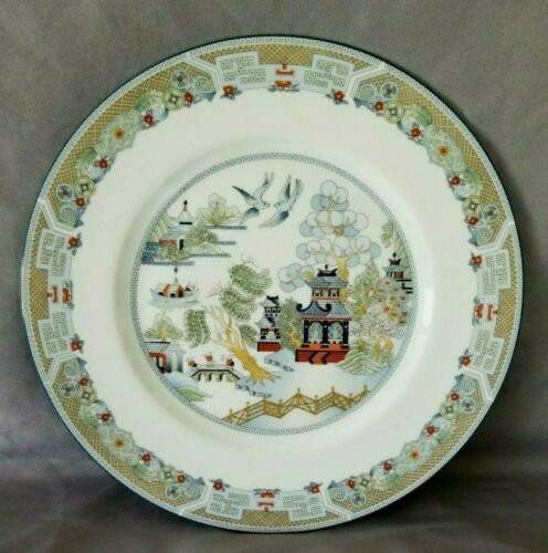 """10 1/2"""" Chinese Legend Dinner Plate Service Plate Wedgwood England"""