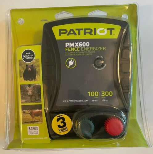 Patriot - PMX600 Fence Energizer - 6.0 Joule for electric fence