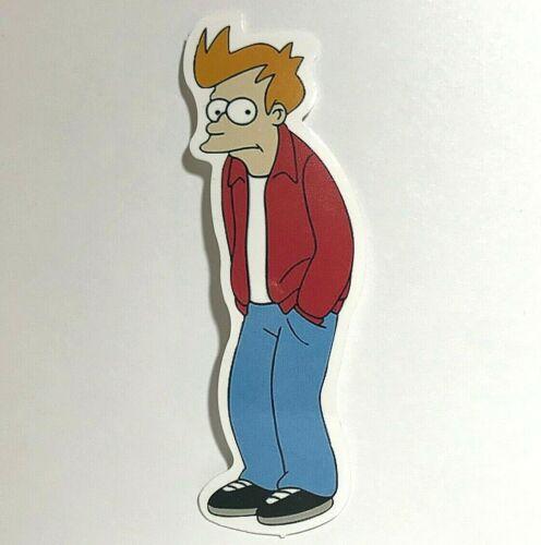 Futurama • FRY • Sticker / Decal • adult swim skate xbox ps4 bender nalgene GIFT