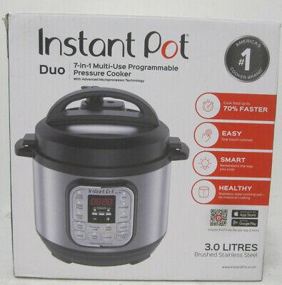 Instant Pot Duo Mini 7-in-1 Multi- Use Programmable Pressure 3L