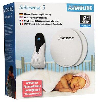 Audioline Babysense 5 - Sensormatte zur Atmungsüberwachung ME718