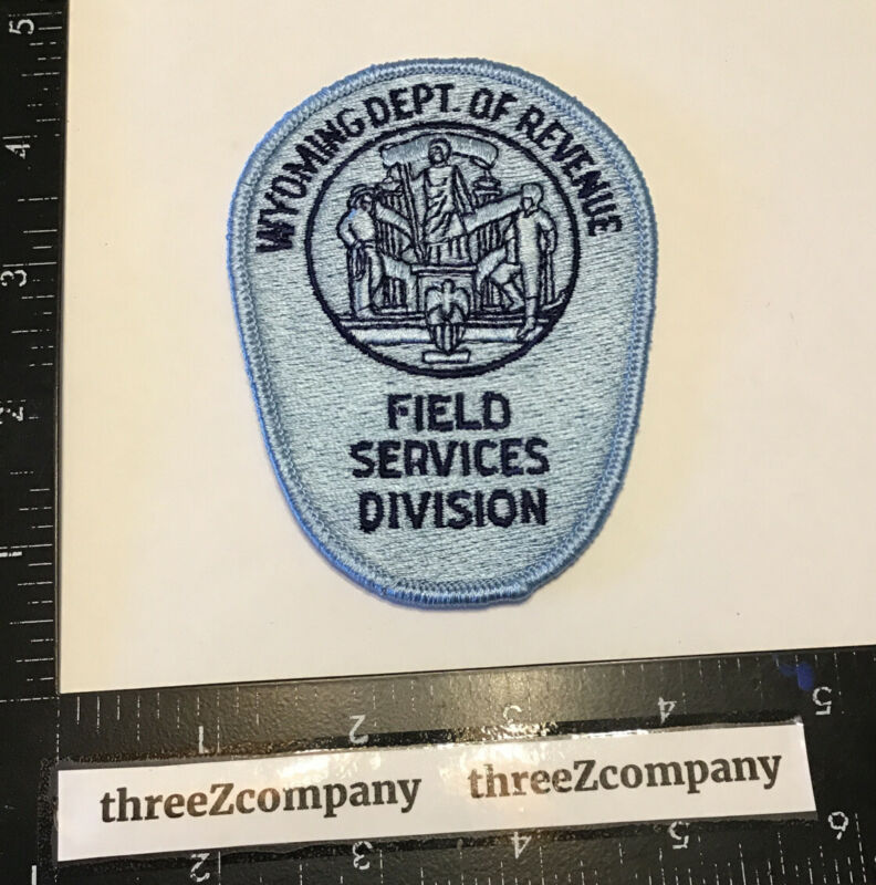Wyoming Dept Of Revenue Field Services Division Officer Patch WY