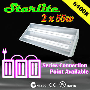 Starlite-2x55w-c-w-6400k-tubes-with-Series-Port-Hydroponic-Propagation-Lights