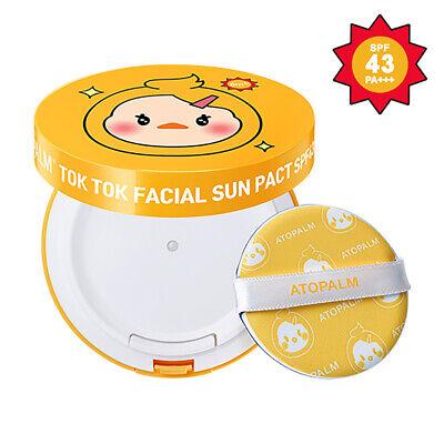 AATOPALM  TOK TOK Facial Sun Pact SPF43 PA+++ 0.53oz / 15g 2021renewal K-Beauty