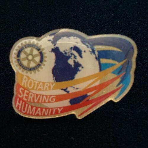 Rotary International Pin ROTARY SAVING HUMANITY 2016-17 Theme (G. White)