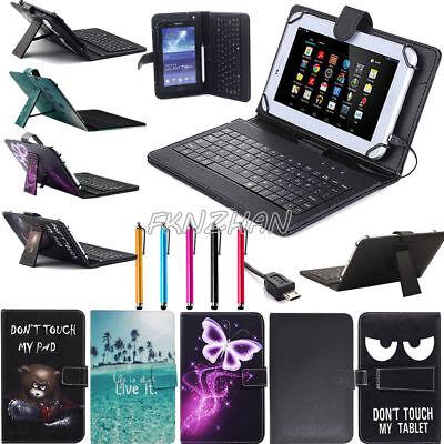 US For Lenovo Tab 4 8 inch/ 10 inch Tablet Micro USB Keyboar