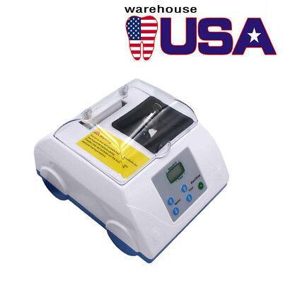 Dental Amalgamator Digital Lcd High Speed Amalgam Capsule Blending Mixer 110v Us