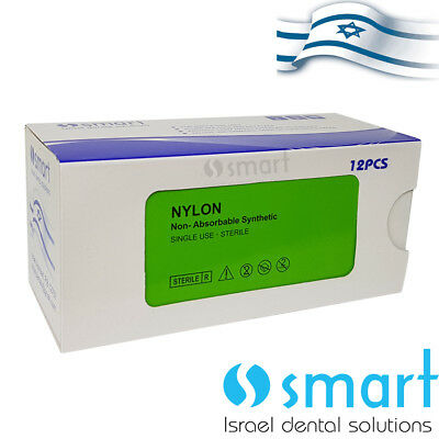 Dental Nonabsorbable Surgical Suture 30 Nylon Monofilament Synthetic Smart