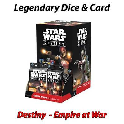Star Wars Destiny - Empire at War - Legendary Cards & Dice - Free Postage