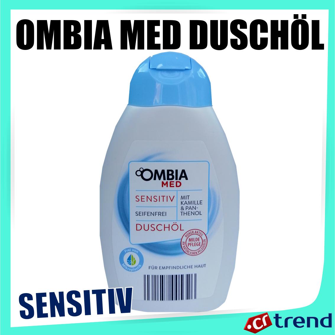 Ombia Med Duschöl: Sensitive - Vegan, mit Kamille & Panthenol 300ml