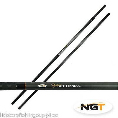 NGT Landing Net Handle Full Carbon 2pc 2 Section 6ft Dynamic Carp Coarse Pole