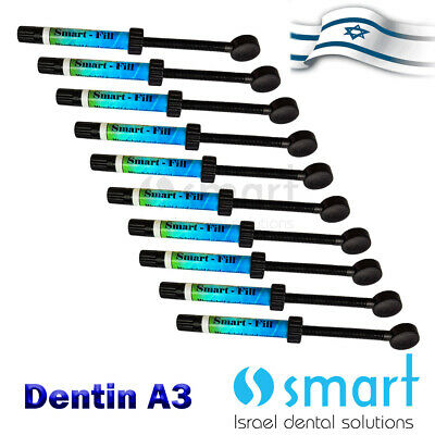 Lot X 10 Dental Universal Composite Smart Filling Anterior Posterior Dentin A 3