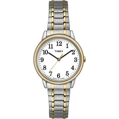 Timex Women's Easy Reader - Two-Tone w White Dial Indiglo Dr