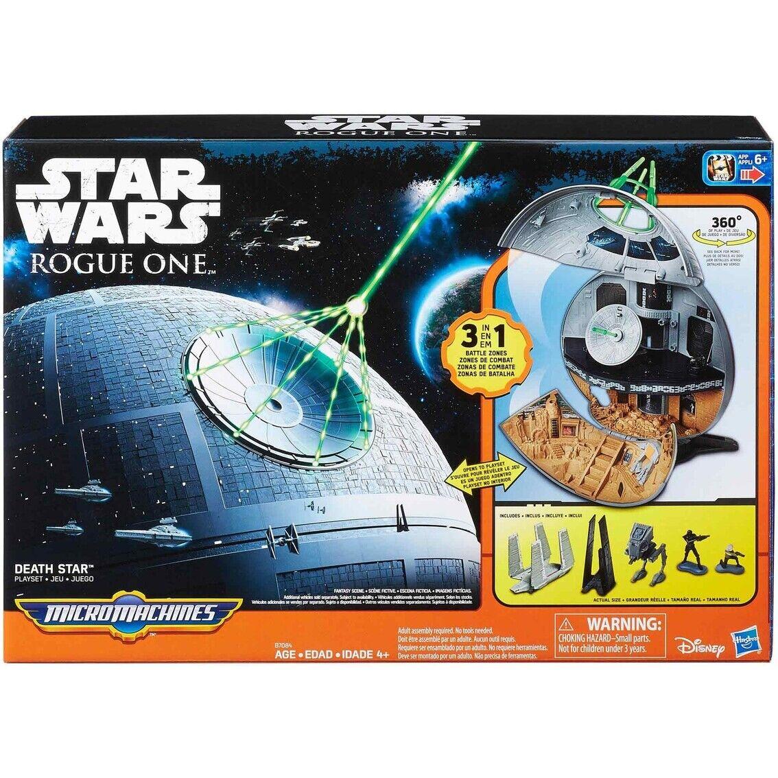 Hasbro Star Wars Rogue One Micro Machines Death Star Playset