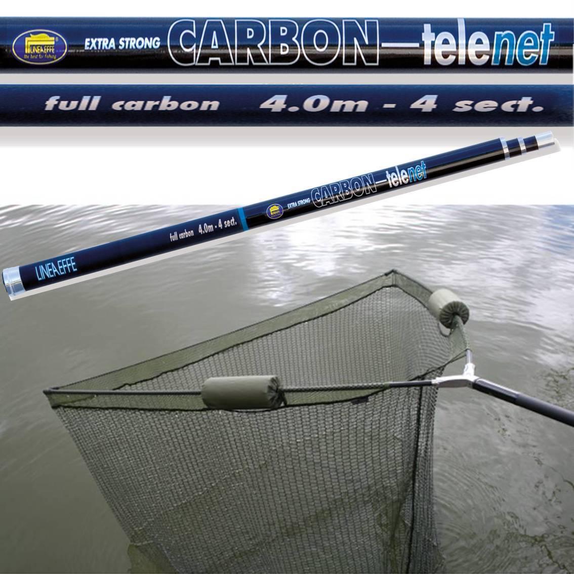 "42/"" Inch Large Carp Pike Fishing Landing Net With dual 2 Net Floats Stink Bag"