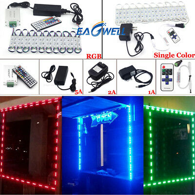 Us 50100ft 5050 Smd 3 Led Module Store Front Window Light Strip Remotepower