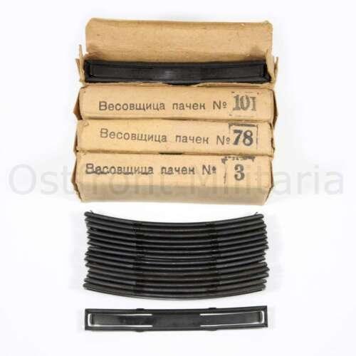 15 pcs Original Soviet SKS stripper clips 7.62x39 Unissued condition Marked