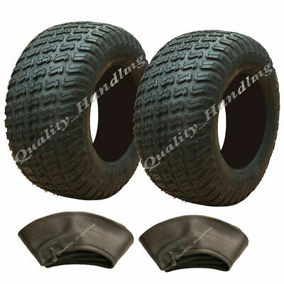 2 - 13x6.50-6 grass tyres with tubes, lawnmower buggy 13 x 6.50-6 tire