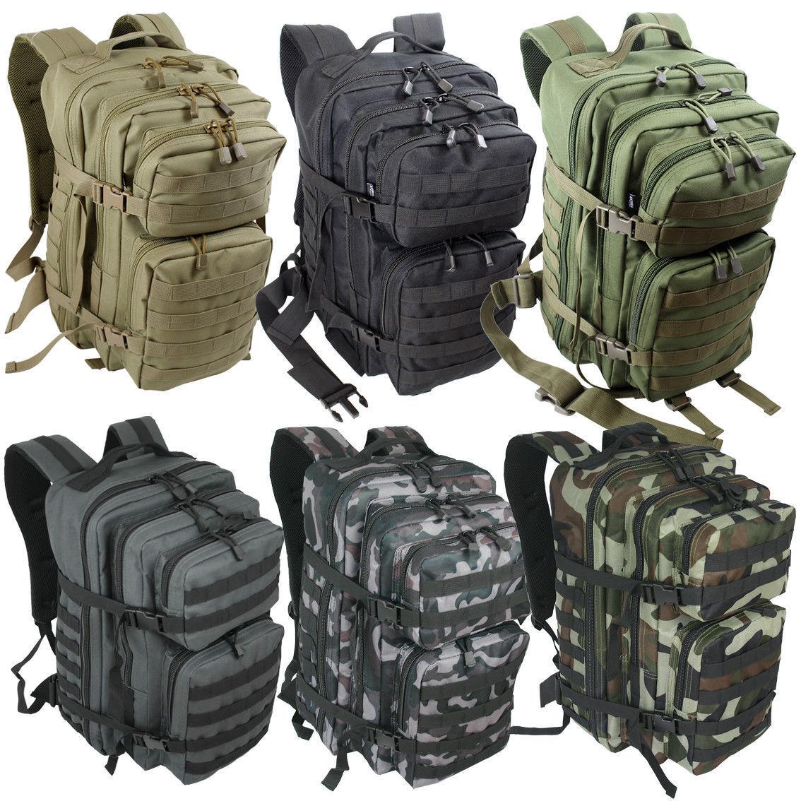 normani® Assault Pack Rucksack multifunktionale Tasche für Camping und Outdoor