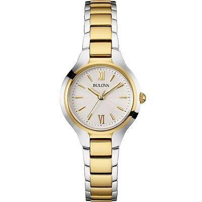 Bulova Women's 98L217 Quartz Two Tone Stainless Steel Bracelet Watch