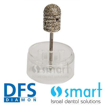 Dental Lab Hp Turbo Spiral Diamond Bur Grinder For Acrylics Dfs Diamon Coarse 18