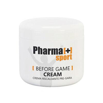 Crema da massaggio pregara riscaldante sport 500 ml