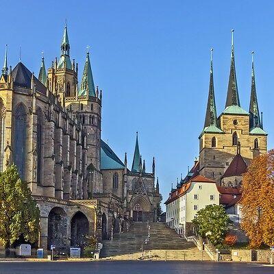 Erfurt Kurzreise 2-4 Tage 2P-DZ @ 3* Hotel am Kaisersaal direkt in der Altstadt