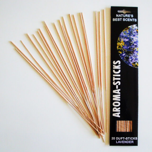 Räucherstäbchen Lavendel / Aroma Sticks Nature´s Best Scents